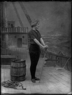 Pauline Chase as Peter Pan in 'Peter Pan', by Bassano Ltd - NPG x104646