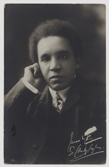 Samuel Coleridge-Taylor, published by Breitkopf & Hartel, circa 1905 - NPG x135708 - © National Portrait Gallery, London