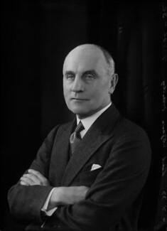 Edward Herbert Cozens-Hardy, 3rd Baron Cozens-Hardy, by Bassano Ltd - NPG x157334