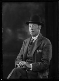 Reginald Lindesay-Bethune, 12th Earl of Lindsay, by Bassano Ltd - NPG x157359