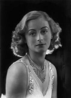 Hon. Joan Henrica Josepha Mary Clare Lyon-Dalberg-Acton, by Bassano Ltd - NPG x157362