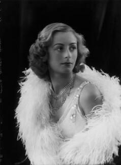 Lady Isobel Blunt-Mackenzie (later Lady Isobel Linda), by Bassano Ltd - NPG x157369