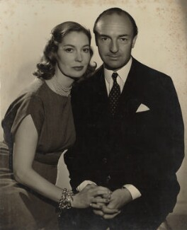 Valerie Hobson; John Profumo, possibly by Antony Beauchamp - NPG x135691