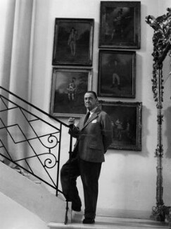Somerset Maugham, by Tom Blau - NPG x135709