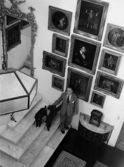 Somerset Maugham, by Tom Blau - NPG x135710