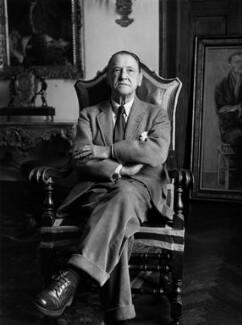 Somerset Maugham, by Tom Blau - NPG x135711