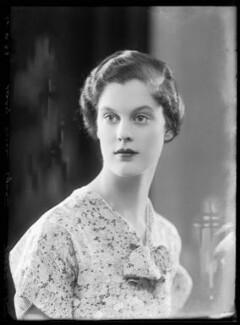 Lady Susan Alice Askew (née Egerton), by Bassano Ltd, 16 June 1933 - NPG x157385 - © National Portrait Gallery, London