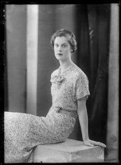 Lady Susan Alice Askew (née Egerton), by Bassano Ltd - NPG x157386