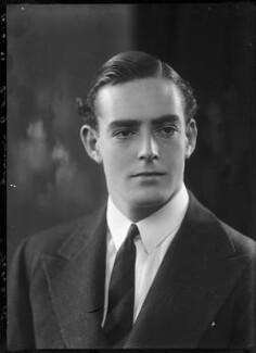 Charles Guy Fulke Greville, 7th Earl of Warwick, by Bassano Ltd - NPG x157388