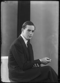 Charles Guy Fulke Greville, 7th Earl of Warwick, by Bassano Ltd - NPG x157390