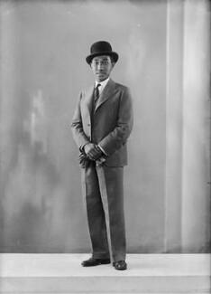 Ahmad Tajuddin, Sultan of Brunei, by Bassano Ltd - NPG x157416