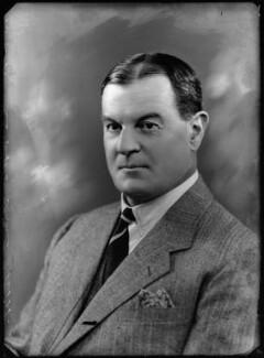 Sir Hyde Clarendon Gowan, by Bassano Ltd - NPG x157427