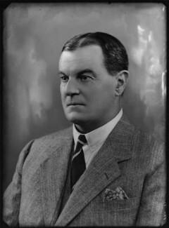 Sir Hyde Clarendon Gowan, by Bassano Ltd - NPG x157428
