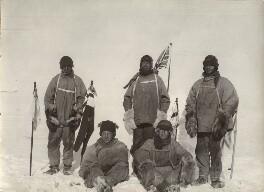 Lawrence Oates; Birdie Bowers; Robert Falcon Scott; Edward Adrian Wilson; Edgar Evans, by Unknown photographer - NPG x135720