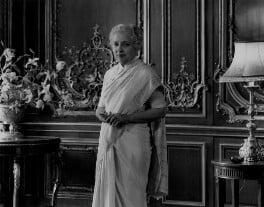 Vijaya Lakshmi Pandit (née Sarup Kumari Nehru), by Rex Coleman, for  Baron Studios - NPG x104687