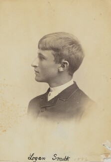 (Lloyd) Logan Pearsall Smith, by Unknown photographer - NPG Ax160597