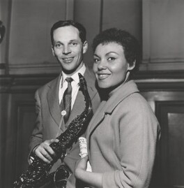 Sir John Philip William ('Johnny') Dankworth; Cleo Laine, by Bill Francis - NPG x135731