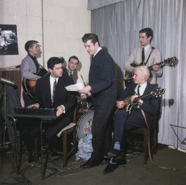 The Tornados with Joe Meek, by John Pratt - NPG x135736