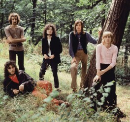 Fleetwood Mac (Peter Green; John McVie; Jeremy Spencer; Mick Fleetwood; Danny Kirwan), by Araldo di Crollalanza - NPG x135751