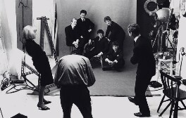 Bruce Fleming photographing The Hollies, by Bruce Fleming - NPG x135758