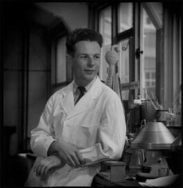 Lionel Vivian Crawford, by Antony Barrington Brown - NPG x104697