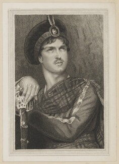 William Charles Macready as Wallace, by J. Rogers, published by  Simpkin and Marshall, after  Thomas Charles Wageman - NPG D38652
