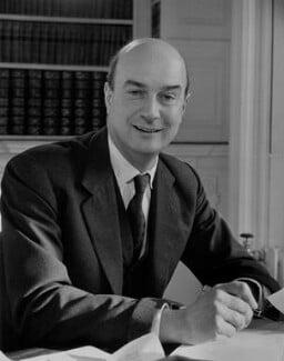 Noel Gilroy Annan, Baron Annan, by Antony Barrington Brown, 11 January 1957 - NPG x104724 - © Gonville & Caius College, Cambridge
