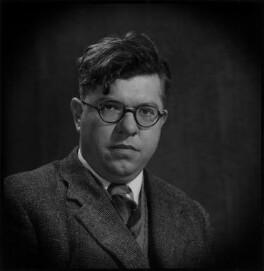 Sir Fred Hoyle, by Antony Barrington Brown - NPG x104770