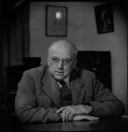 Sir (Bennett) Melvill Jones, by Antony Barrington Brown, 13 March 1958 - NPG x104785 - © Gonville & Caius College, Cambridge