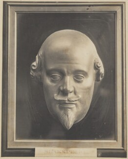 William Shakespeare, after Unknown sculptor, after  Gerard Johnson - NPG D42285