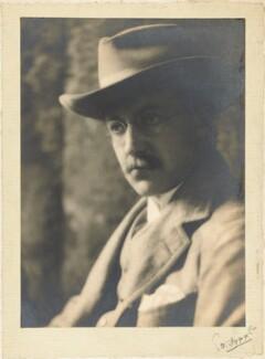 Edward Plunkett, 18th Baron Dunsany, by E.O. Hoppé - NPG P1694