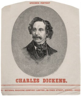 Charles Dickens, by Henry Duff Linton, after  Mayall - NPG D42287