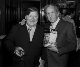 Daniel Farson; Paul Raymond (Geoffrey Anthony Quinn), by Terence Pepper - NPG x135810