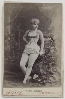 Lillian Elmore, by Benjamin Joseph Falk - NPG x135813