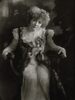Sarah Bernhardt, by Henry Walter ('H. Walter') Barnett, 1910 - NPG x135808 - © National Portrait Gallery, London