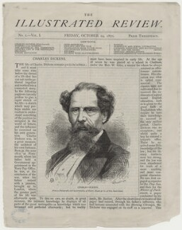 Charles Dickens, by John Proctor, after  Mason & Co (Robert Hindry Mason) - NPG D42293