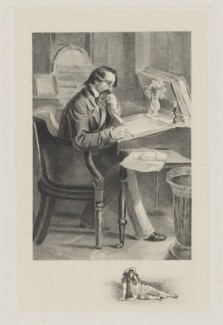 Charles Dickens, after Herbert Watkins - NPG D42295