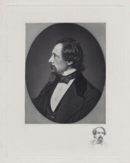 Charles Dickens, probably after Herbert Watkins - NPG D42296