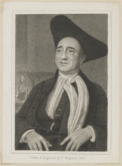 William Dowton as Obadiah in Knight's 'Honest Thieves', by Thomas Charles Wageman, published by  Simpkin and Marshall - NPG D38659