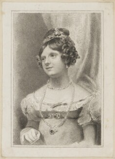 Mary Ann Povey (Mrs Knight) as Jessica in 'The Merchant of Venice', by Thomas Woolnoth, published by  Simpkin and Marshall, after  Thomas Charles Wageman - NPG D38662