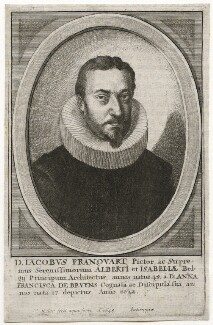 Jacob Francart (Franquart), by Wenceslaus Hollar - NPG D42297
