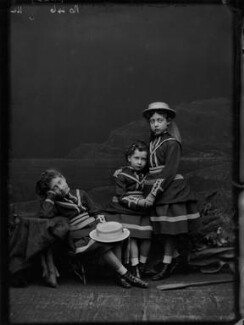Royal Family group, by Alexander Bassano, 1875 - NPG x104922 - © National Portrait Gallery, London
