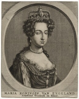 Queen Mary II, after Unknown artist - NPG D42299