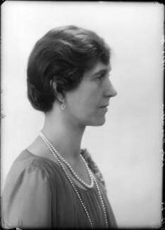 Maud (née Dees), Lady McAlpine, by Bassano Ltd - NPG x157672