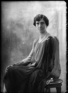 Maud (née Dees), Lady McAlpine, by Bassano Ltd - NPG x157673