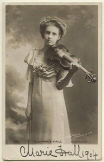 Marie Hall, by Mrs Burrell (Henrietta Theonie Jerome Burrell) - NPG x135847