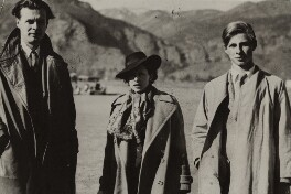 Aldous Huxley, Maria Huxley (née Nys), Matthew Huxley, by Unknown photographer - NPG x135933