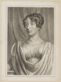 Margaret Agnes Bunn (née Somerville) as Hermione in 'The Winter's Tale', by Thomas Charles Wageman, published by  Simpkin and Marshall, after  J. Rogers, published 1823 - NPG  - © National Portrait Gallery, London