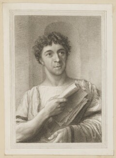 Charles Mayne Young as Brutus in 'Julius Caesar', by Thomas Charles Wageman, published by  Simpkin and Marshall, after  Thomas Anthony Dean - NPG D38669