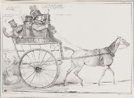 Up-hill Work!, by John ('HB') Doyle, printed by  Ducôte & Stephens, published by  Thomas McLean, published 15 June 1835 - NPG D41331 - © National Portrait Gallery, London